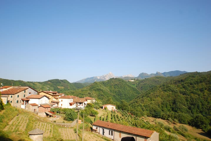 Apartment: Lunigiana, North Tuscany - San Terenzo Monti - Huis