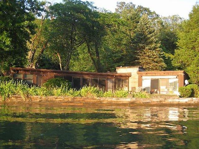Lake Cottage - Skaneateles Lake - Homer - Hus