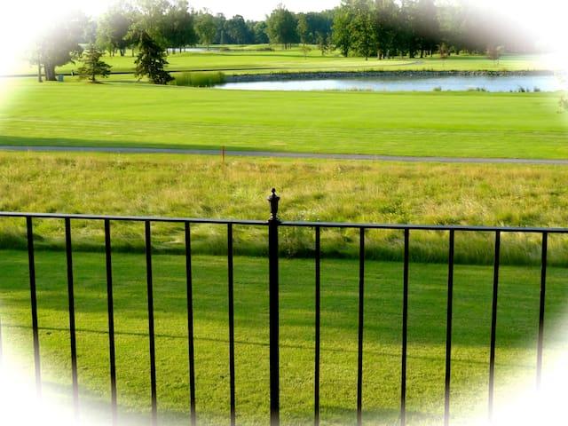 wellness room by golf course  - East Amherst - Leilighet