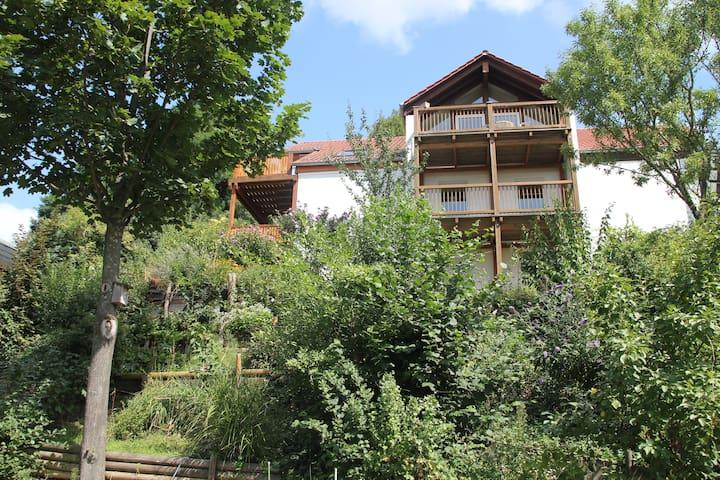 Hübsches Gästezimmer mit Bad/Küche - Bensheim - Huis