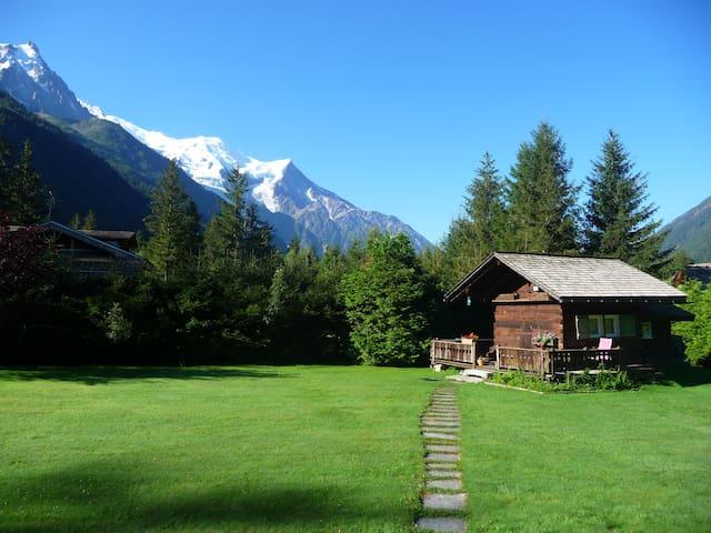 """Petit chalet """"Mazot"""" 2km Chamonix2p - Chamonix - Mökki"""