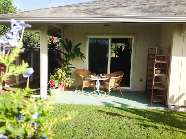 Private Garden Studio W/Ocean Views - Naalehu - Aamiaismajoitus