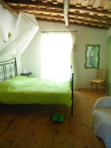 Original romantic in nature apartment 4-5pers - Midões - Lägenhet