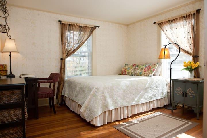 Lovely private room in Lenox (gold) - Lenox - Dům