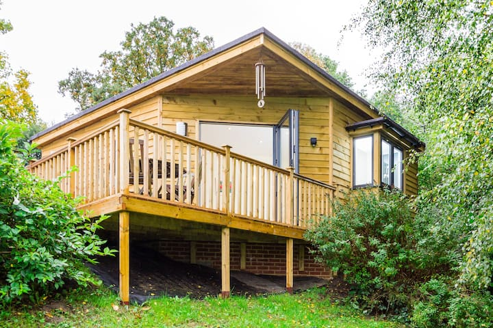 Amazing woodland lodge near Cobham - 薩里(Surrey) - 牧人小屋