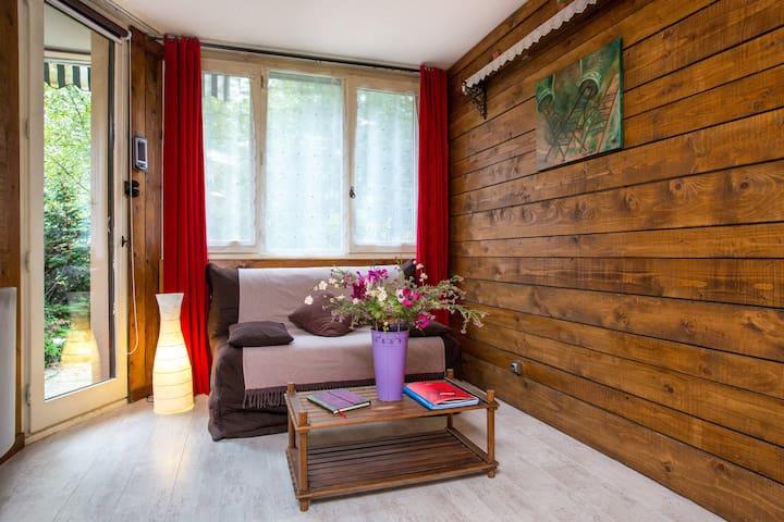 Apartment 2-4 pers.Chamonix center - Chamonix - Lägenhet