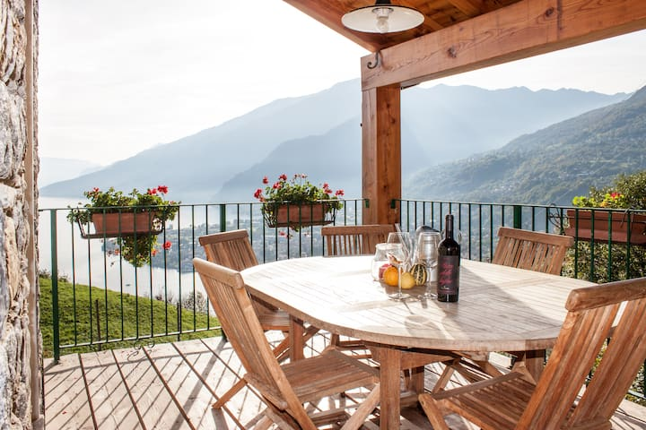 Casa vacanze con fantastica vista 1 - Gravedona ed Uniti - Lägenhet