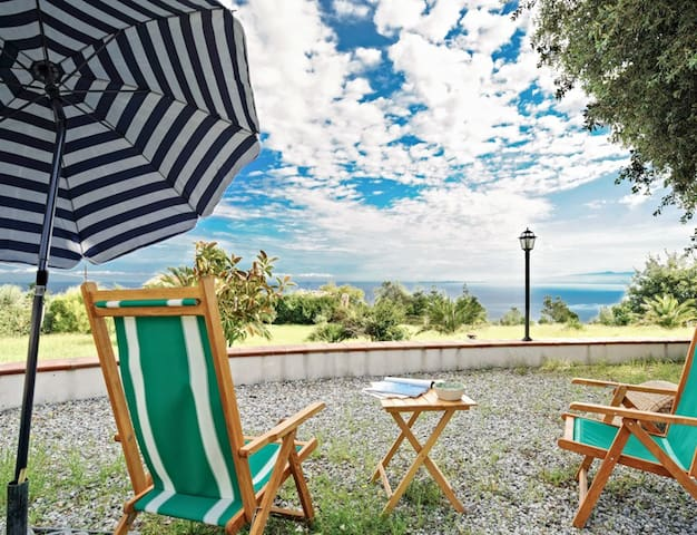 Immersed in the green with seaview - Gioiosa Marea