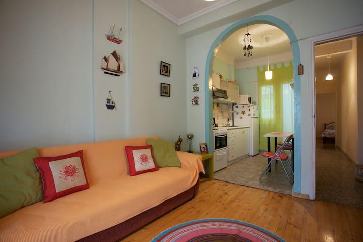 Home  in  the heart of Thessaloniki - Thessaloniki - Lägenhet