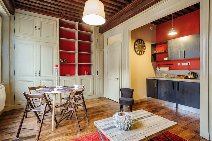 Cosy apartment in the Old Town 3 - Lyon - Departamento