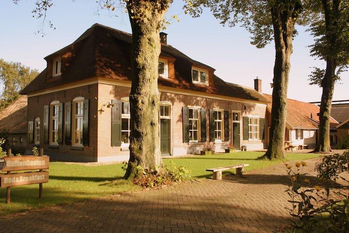 Cosy B&B in ancient farmhouse  - Luttenberg - Bed & Breakfast