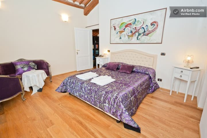 Purple Room (Suite) - Chiusi - Bed & Breakfast