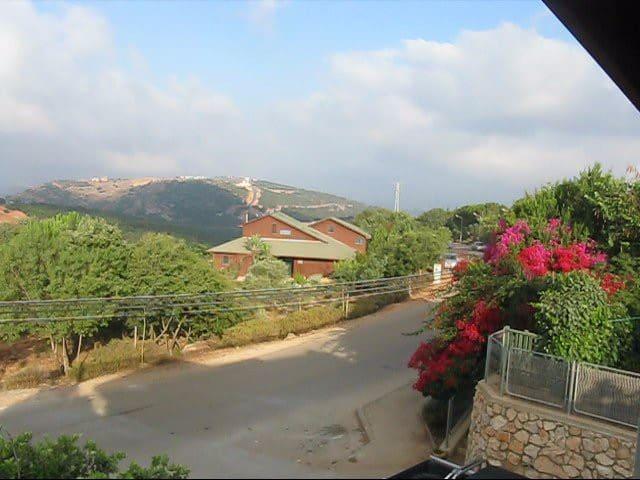 2 rooms & a balcony. Amazing view  - Kamon