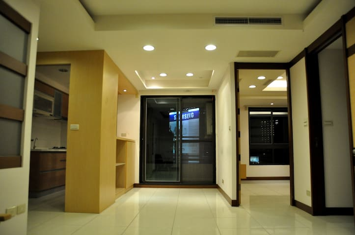 Love River - Lovely & Comfortable Apartment - Qianjin District - Daire