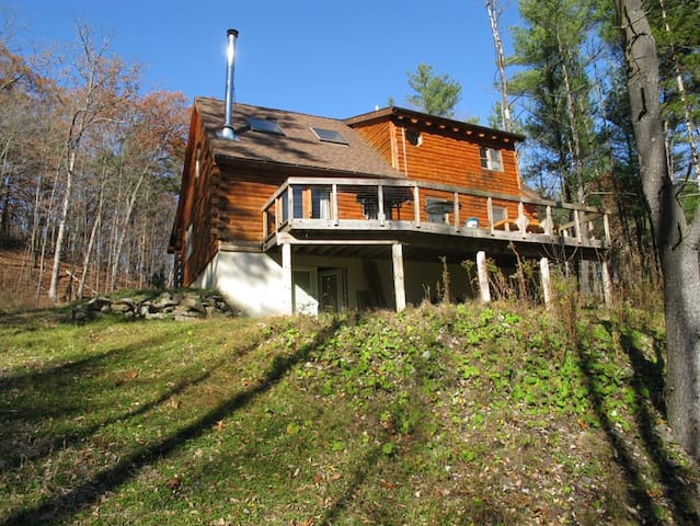 Catskills Luxury Log Cabin - Catskill - Casa de campo