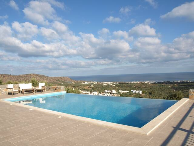 Villa Marina luxury private B&B - Milatos - Oda + Kahvaltı