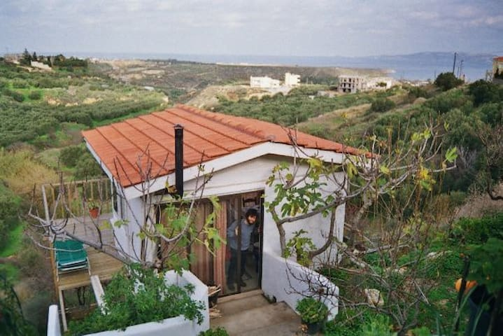 Magical Sea View Studio Chalet Close to Beaches ! - Prassas - Ev