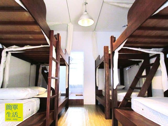 舒適的上下舖單人床位   附早餐 - Hengchun Township