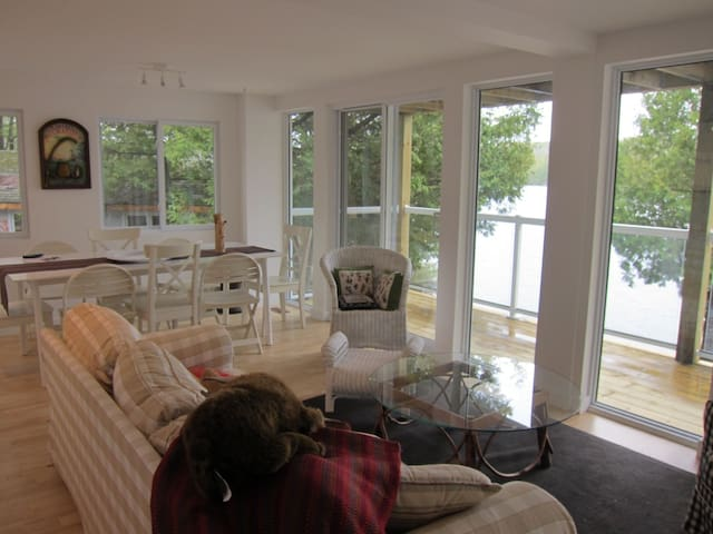Lake House(Lower):2br awesome view - Tichborne - Hus