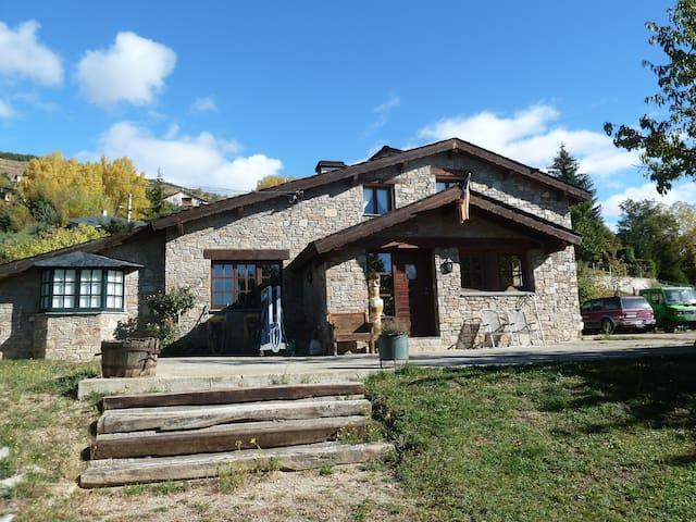 2 Double rooms +living room+garden - Estavar - Pousada