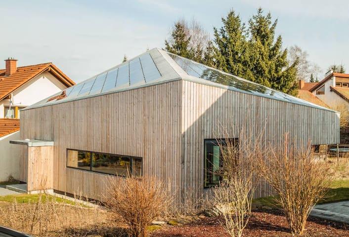 Designerhaus mit Whirlpool & Sauna - Stelzenberg - Huis
