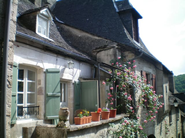 1 Bedroom House in Turenne, Correze - Turenne - Huis