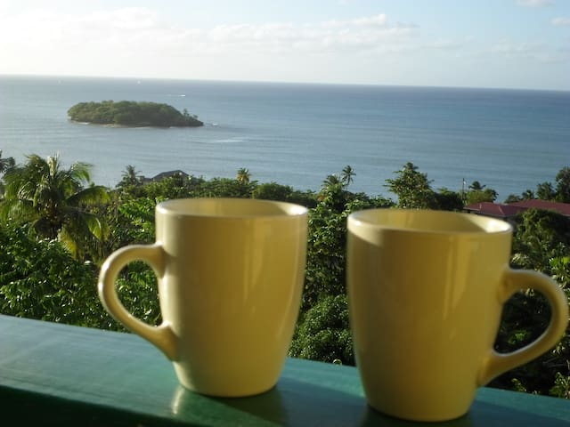 Amazing Beach View House Apt 2 - Castries City - Appartement