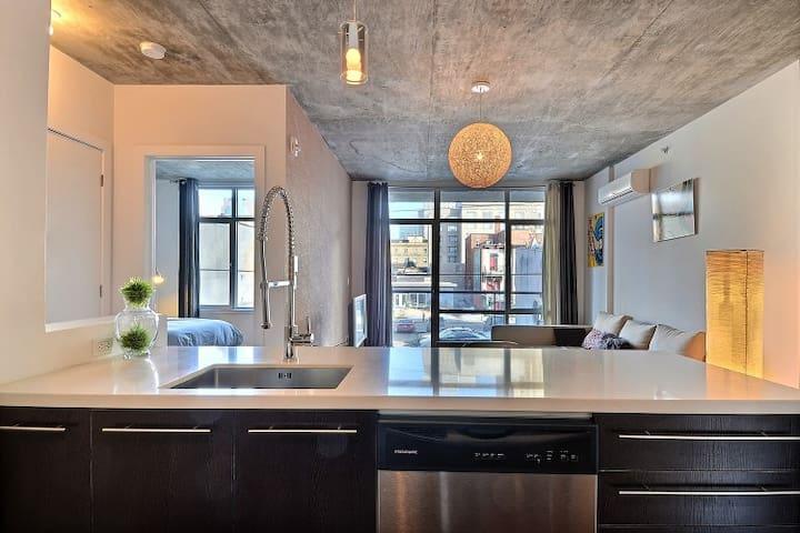 New Building Bishop and St Catherin - Montreal - Apartemen