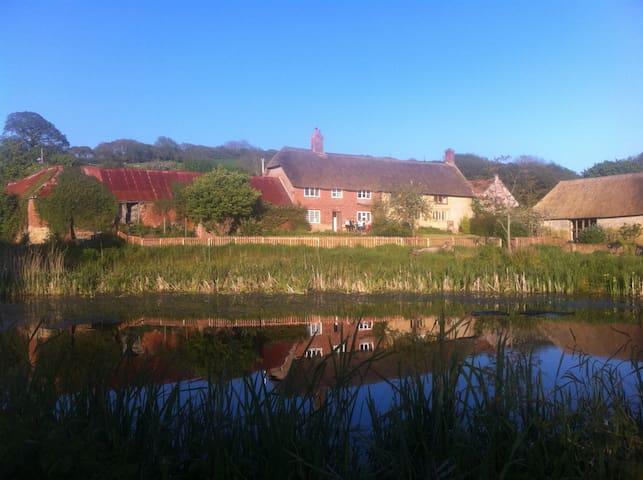 North End Farmhouse on Dorset's Jurassic coast - Chideock - Haus