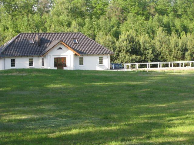 Domek w lesie. Dolina Małej Wełny - Turostówko