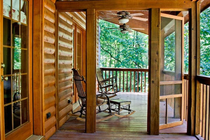 Little Cabin in the Woods - Mineral Bluff