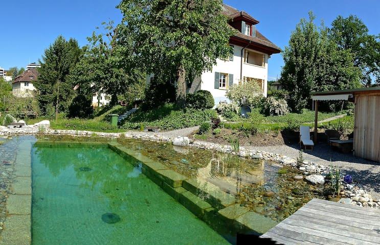 Great Garden Apartement Lucerne  - Emmen - Daire
