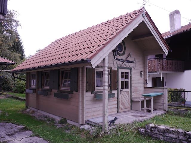 Honeymoon Lodge in den Bergen - Bad Kohlgrub - Cabane