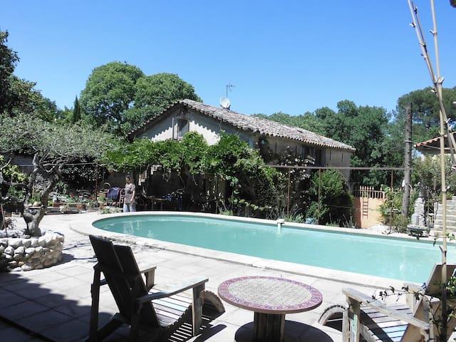 Maison dans hameaux près d'Anduze - Massillargues-Attuech - Hus