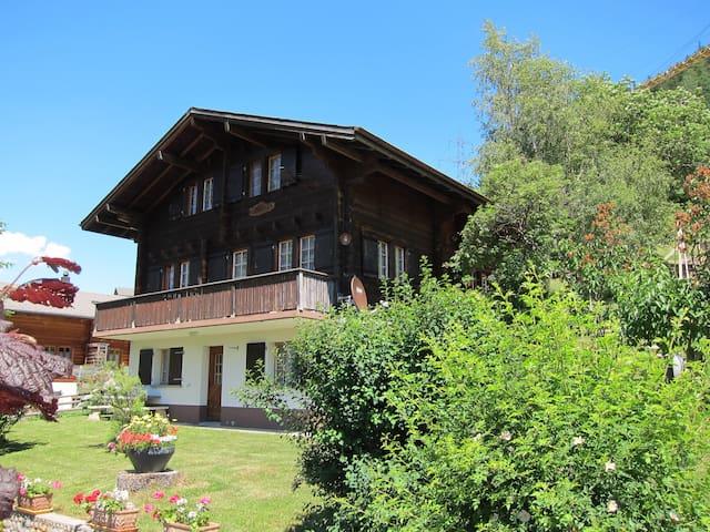 Maisonnette Wohnung in Ernen, VS - Ernen - Apartamento