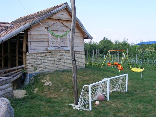 Old style hut - Laćarak - Hut