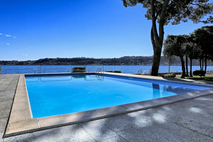 Casa Vistabella:Amazing flat with pool by the lake - Salò
