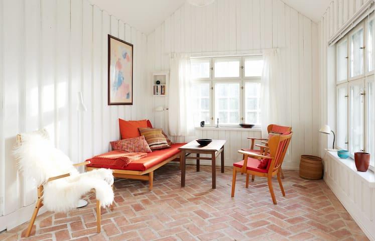 The Garden House - tiny,green+close to center - Copenhague - Casa