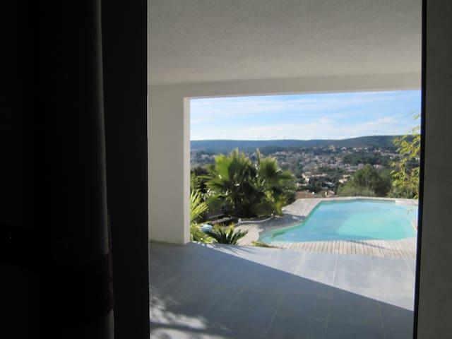 studio dans villa Montpellier - Saint-Gély-du-Fesc - Apartamento