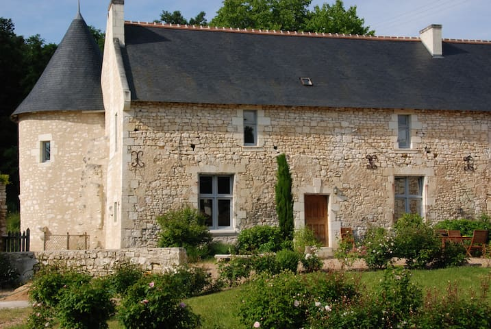 Country cottage -Domain of 14th - Pouzay - Huis