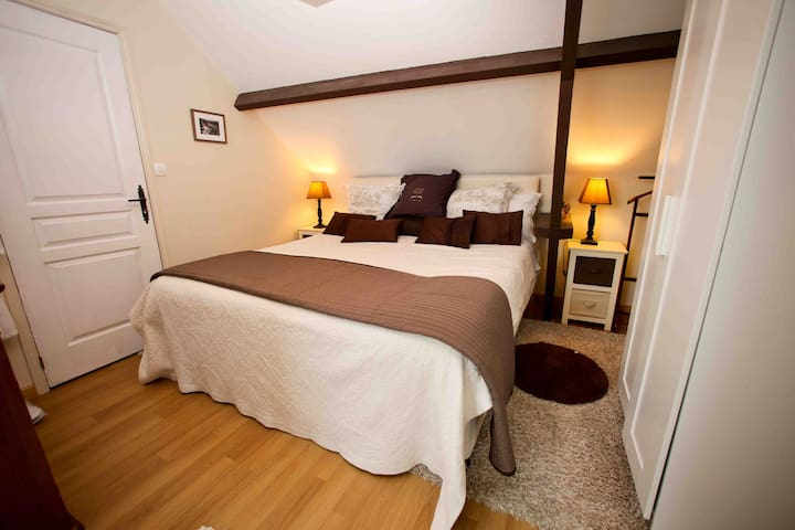 Look couples only 3* barn apartment - Houesville - Appartement