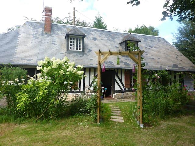 Longère Normande avec piscine - Lieurey - Casa