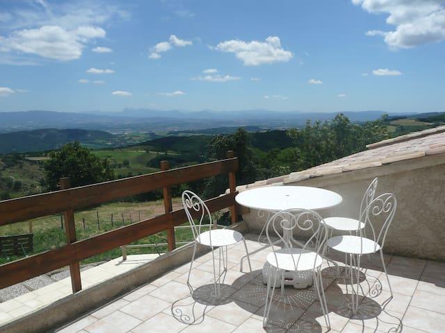 Studio view over the Rhone valley - Saint-Péray - Departamento