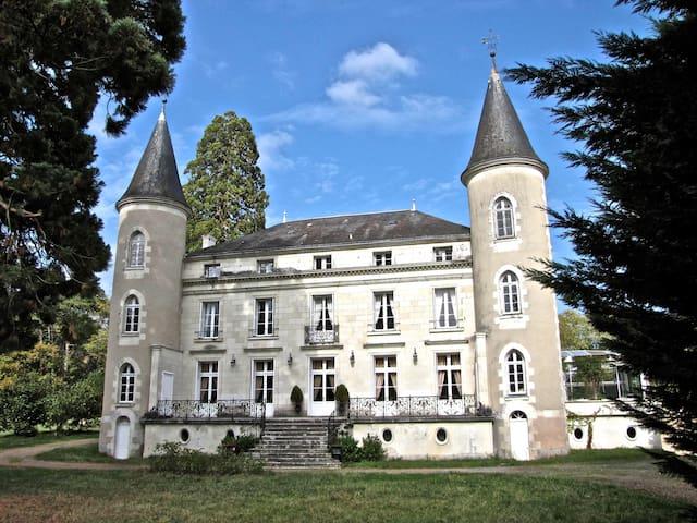 KASTEEL LES VALLEES TOURAINE - Tournon-Saint-Pierre - Kasteel