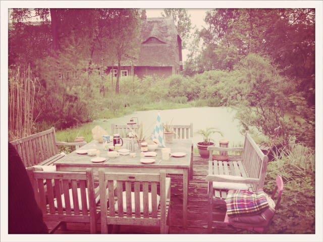 Idyllische Ferienwohnung Gutshof - Rupensdorf  - Daire