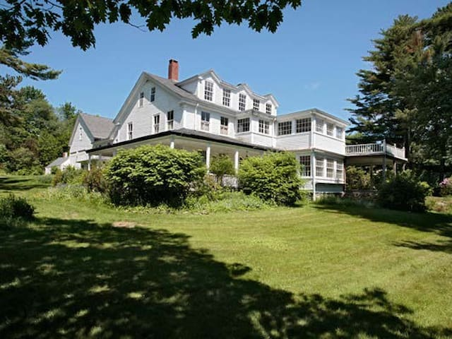 Saturday Cove Farm-1800's estate - Northport - House