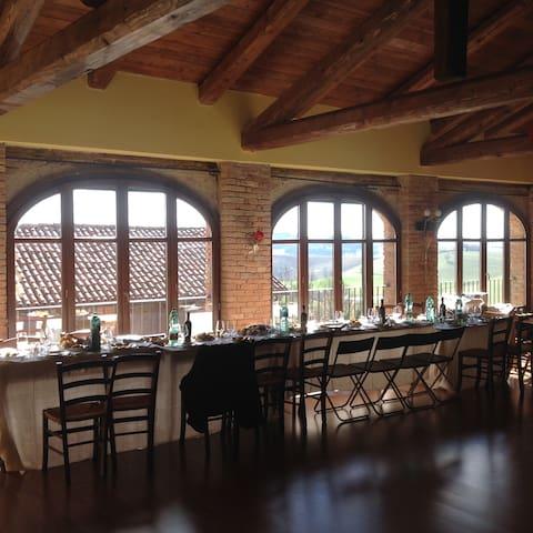 affitto fienile per feste e meeting aziendali - Casarello - Loft