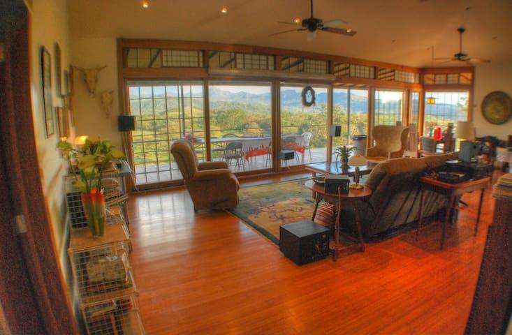 Incredible Mountain View-Private 2Bdrm Suite-Quiet - Boquete,  Caldera - Casa