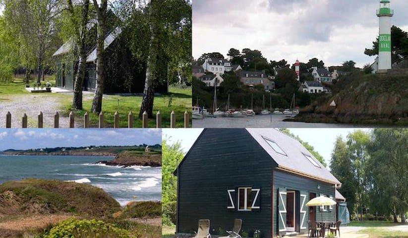 des vacances en vert et bleu - Clohars-Carnoët - Hus