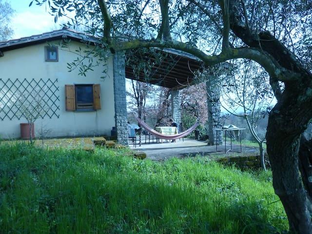 A small house in Tuscia (Lazio) - Graffignano - Hus